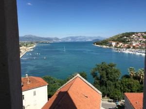 Ausblick in Trogir