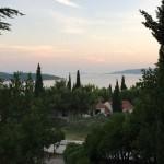 Der Ausblick vom Hotel Medena