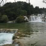 Die Krka-Wasserfälle