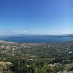 Der Blick vom Berg Kozjak