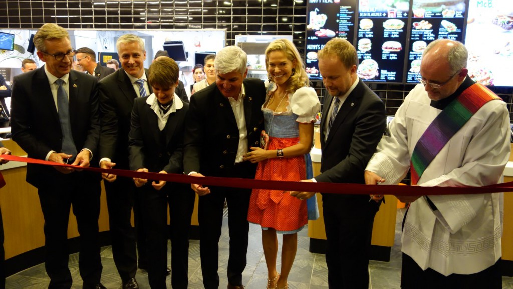 Der MCDonald's wurde am Donnerstag eröffnet Bild: Marvin Schittko