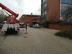 Zwischenfall in Notunterkunft