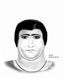 Das Phantombild des 2. Täters Bild: LKA
