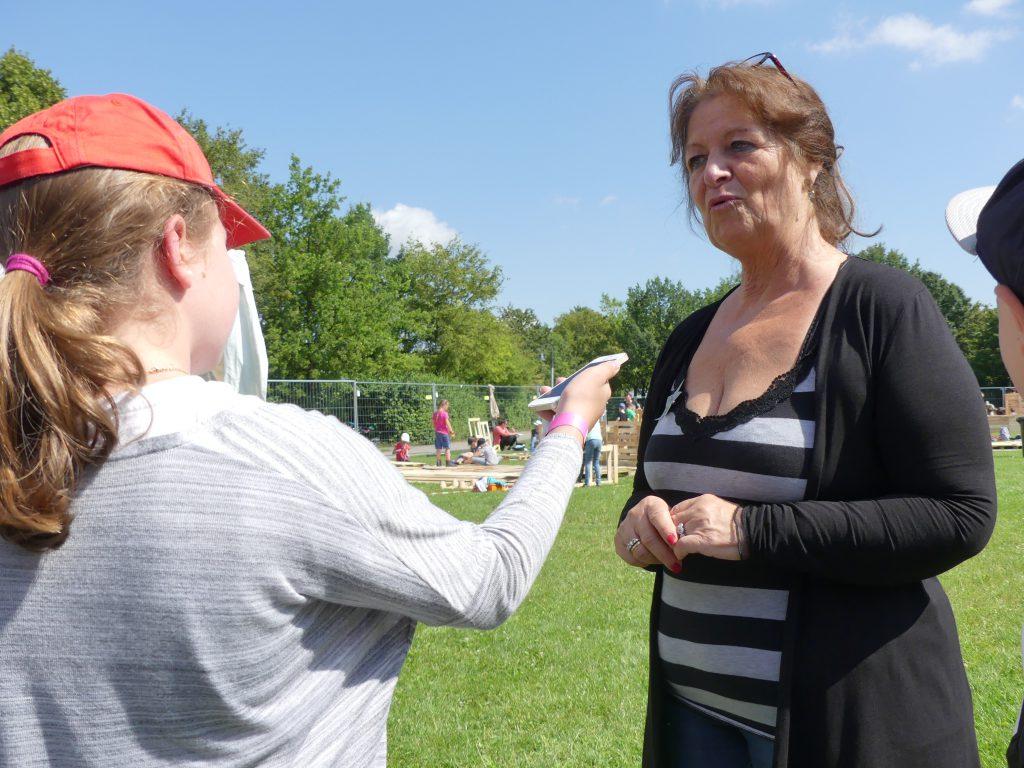 Interview mit Frau Fuchs