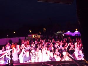 Das Publikum war begeistert. Foto: Marvin Schittko
